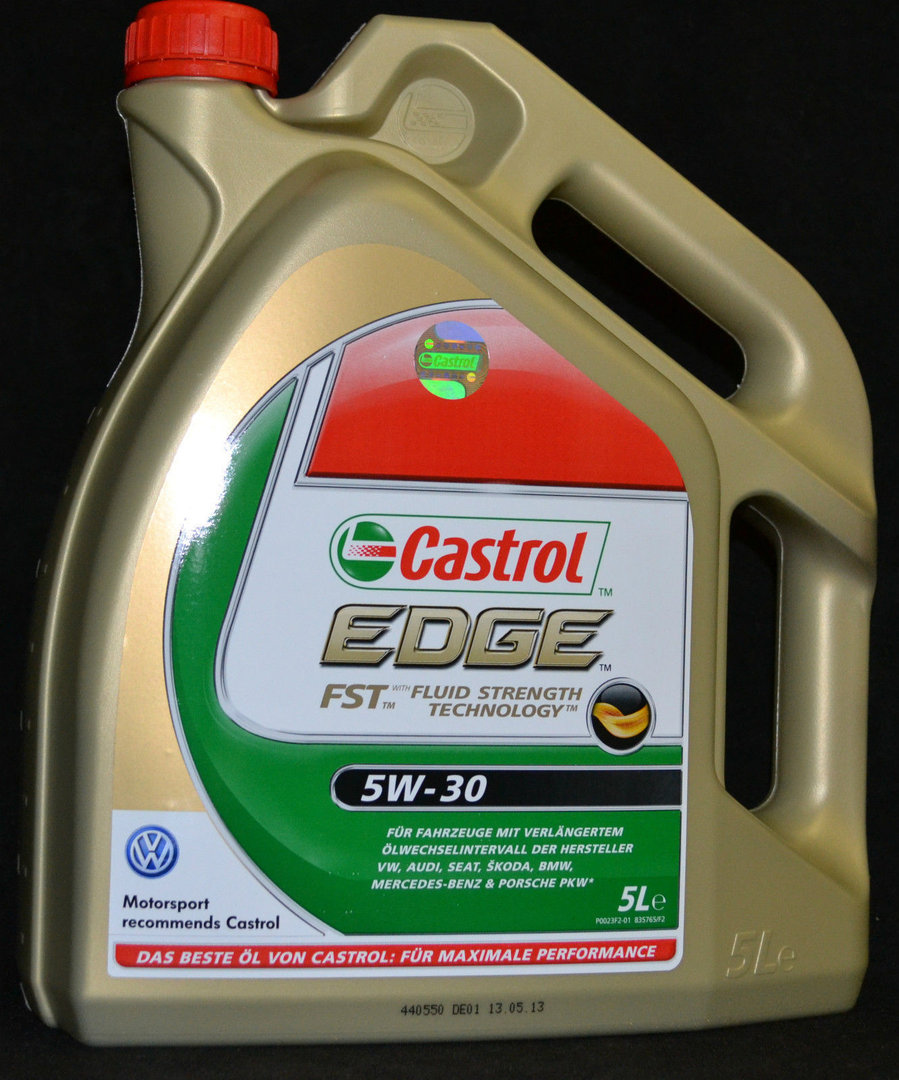 5 liter castrol edge fst 5w 30 longlife levoil. Black Bedroom Furniture Sets. Home Design Ideas