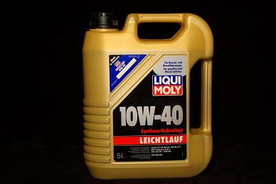 5 liter liqui moly leichtlauf l 10w 40 motor l levoil. Black Bedroom Furniture Sets. Home Design Ideas