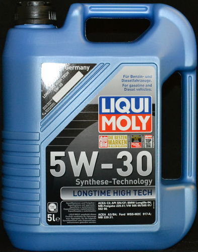 5 Liter Liqui Moly Longtime High Tech 5W-30
