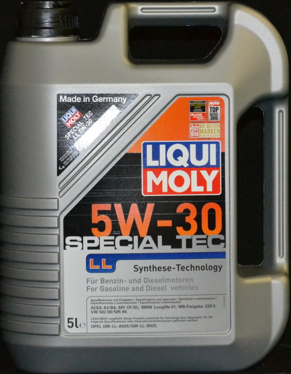 5 liter liqui moly special tec ll 5w30 motor l 5w 30 gm opel mb 229 5 vw bmw. Black Bedroom Furniture Sets. Home Design Ideas