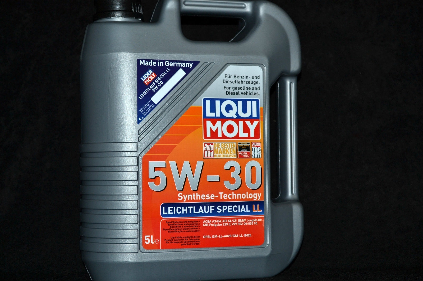 5 liter liqui moly special tec ll 5w30 motor l 5w 30 gm opel mb 229 5 vw bmw levoil. Black Bedroom Furniture Sets. Home Design Ideas