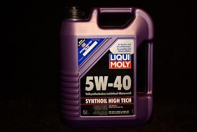 5 Liter Liqui Moly Synthoil High Tech 5W-40 Motoröl