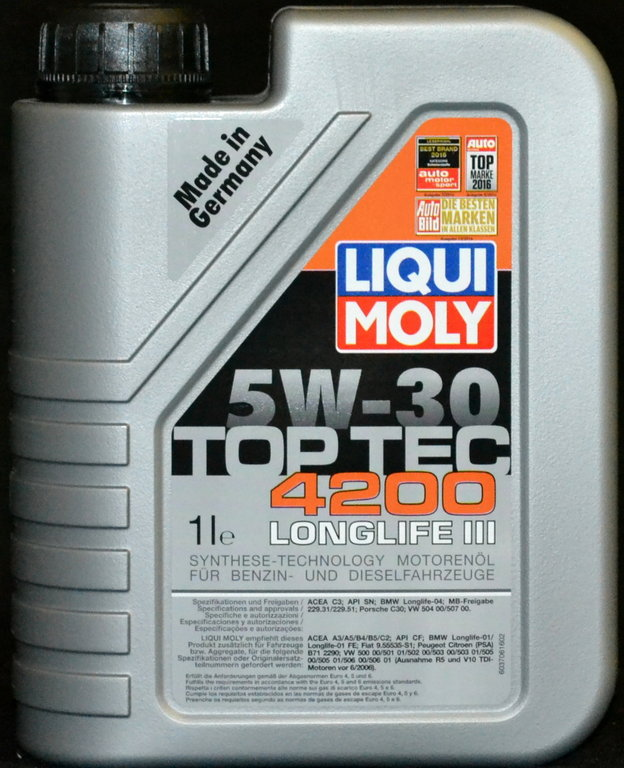 1 liter liqui moly top tec 4200 5w 30. Black Bedroom Furniture Sets. Home Design Ideas