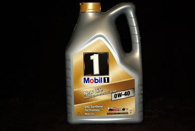 5 Liter Mobil 1 New Life 0W-40