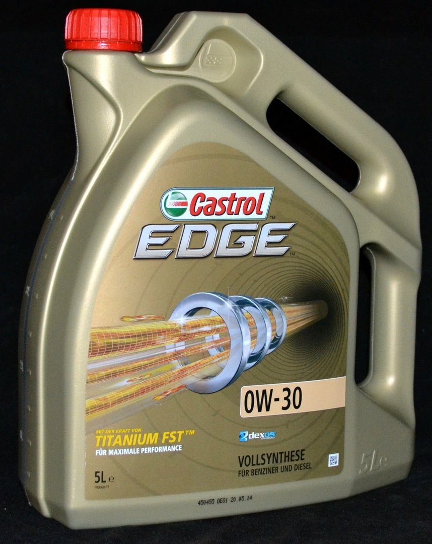 5 liter castrol edge fst titanium 0w 30 motor l 0w30. Black Bedroom Furniture Sets. Home Design Ideas