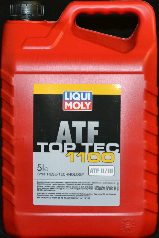 5 liter liqui moly getriebe l atf ii iii top tec 1100. Black Bedroom Furniture Sets. Home Design Ideas