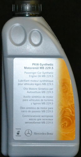 1 Liter ORIGINAL MERCEDES MOTORÖL MB 229.5 Synthetic