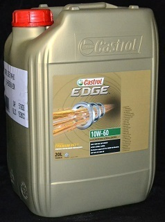 20 liter castrol edge fst titanium 10w 60 motor l 10w60. Black Bedroom Furniture Sets. Home Design Ideas