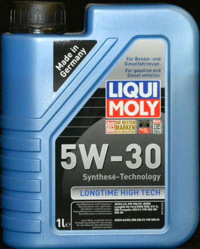 1 Liter Liqui Moly Longtime High Tech 5W-30 Motoröl FORD VW 505 00 MB BMW