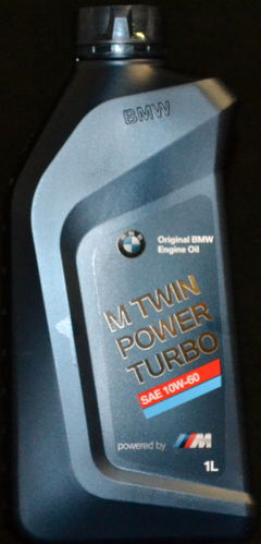 1 Liter Original BMW Motoröl 10W-60, BMW M TwinPower Turbo 10W60 M3, M5, M6, Z8