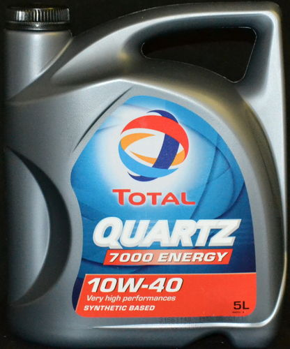5 Liter TOTAL Quartz Energy 7000 10W-40 Motoröl