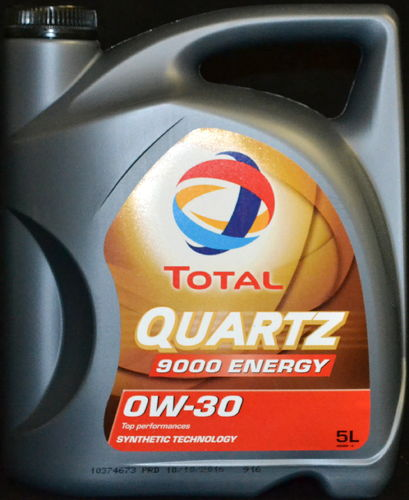 5 Liter TOTAL Quartz Energy 9000 0W-30 Motoröl