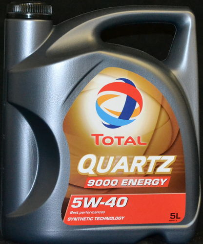 5 Liter Total Quartz Energy 9000 Motoröl 5W-40